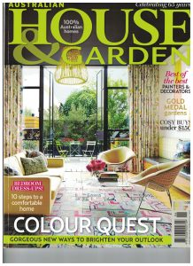HOUSE AND GARDEN JUNE 2013 FRONT COVER