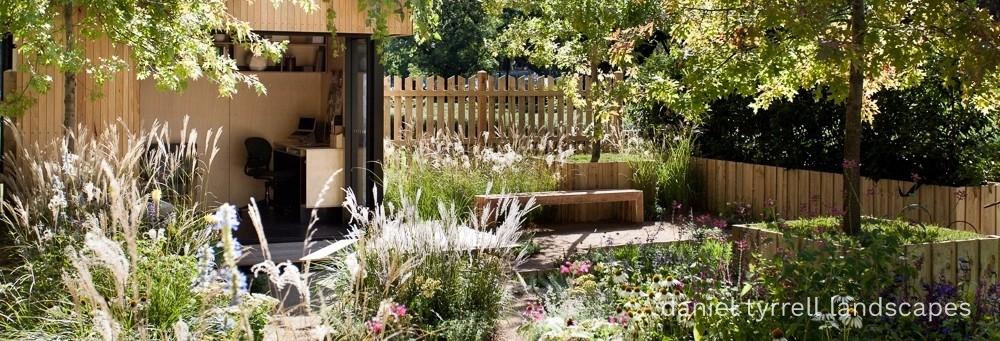 image to promote landscape design services