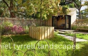 Garden Design for Backyard Office
