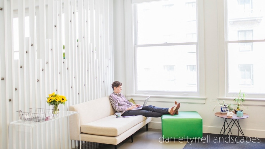 Great office spaces need green
